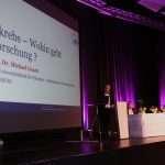 Extra aus Wien angereist: ABCSG-Präsident Michael Gnant sprach über die Zukunft der klinischen Brustkrebsforschung.