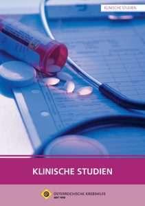 """Informationsbroschüre """"Klinische Studien"""""""