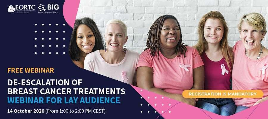 Webinar zur Deeskalation von Brustkrebsbehandlungen